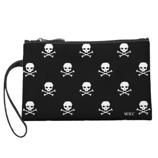 WHC - Skull Clutch Wristlet Clutches