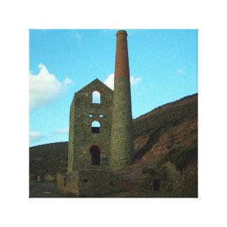 Wheal Coates Mine Cornwall England Canvas Print