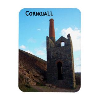 Wheal Coates Mine Cornwall England Magnet