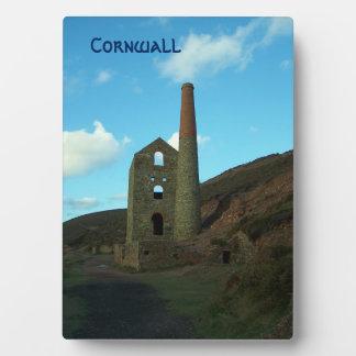 Wheal Coates Mine Cornwall England Plaque