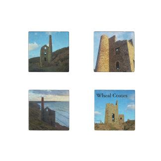 Wheal Coates Mine Cornwall England Stone Magnet