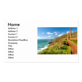 WHEAL COATS PACK OF STANDARD BUSINESS CARDS