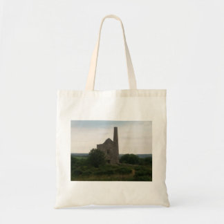 Wheal Peevor Cornish Tin Mine Photo 2 Tote Bags