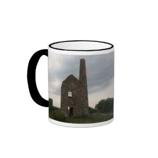 Wheal Peevor Cornish Tin Mine Photograph Ringer Mug