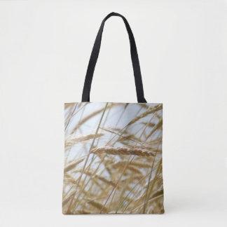 Wheat And Blue Sky Tote. Tote Bag