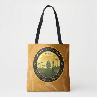 Wheat and Centennial Print Bag