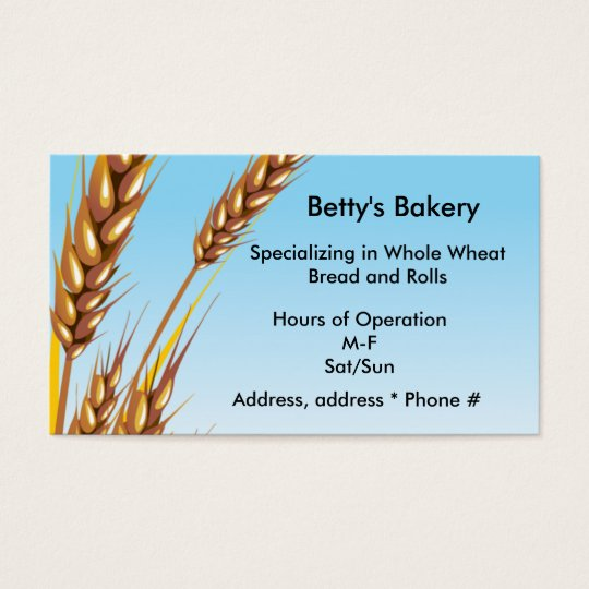 Wheat Business Card