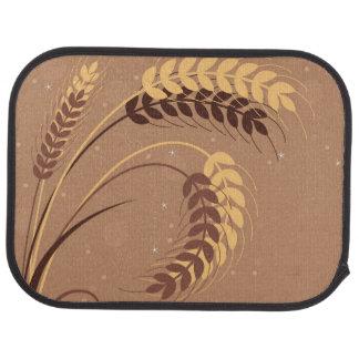 Wheat Ears Car Mat