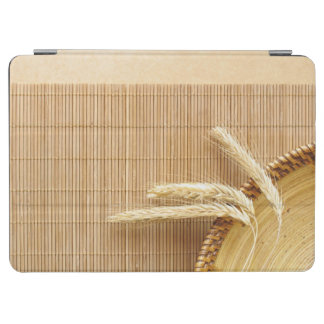 Wheat Ears On Wooden Plate iPad Air Cover