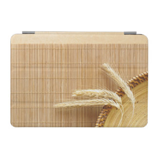 Wheat Ears On Wooden Plate iPad Mini Cover