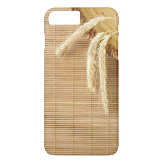 Wheat Ears On Wooden Plate iPhone 8 Plus/7 Plus Case