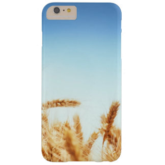 Wheat field against blue sky barely there iPhone 6 plus case