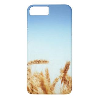 Wheat field against blue sky iPhone 8 plus/7 plus case