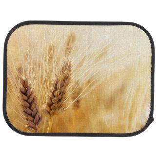 Wheat field car mat