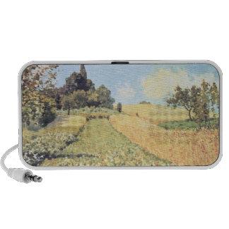 Wheat Field oil on canvas Laptop Speaker