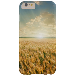 Wheat field on sunset barely there iPhone 6 plus case