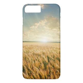 Wheat field on sunset iPhone 8 plus/7 plus case