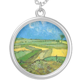 Wheat Fields at Auvers Under Clouded Sky Vincent Necklace