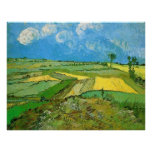 Wheat Fields at Auvers Under Clouds by van Gogh