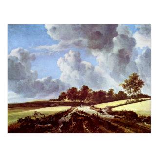 Wheat Fields By Ruisdael Jacob Isaaksz. Van Postcard