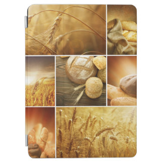 Wheat.Harvest concepts.Cereal collage iPad Air Cover