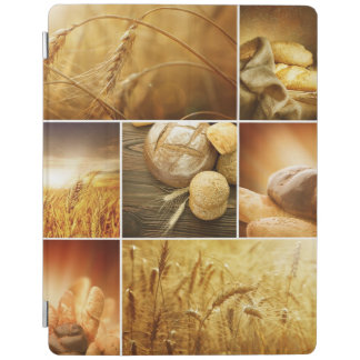 Wheat.Harvest concepts.Cereal collage iPad Cover