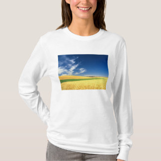 Wheat harvest on the Palouse in Eastern T-Shirt