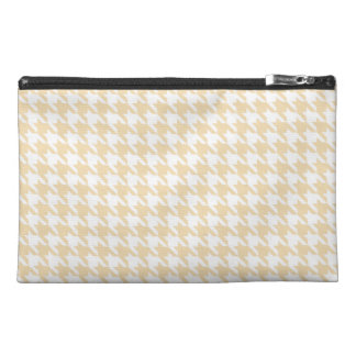 Wheat Houndstooth Travel Accessories Bag