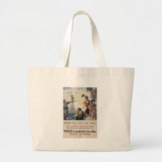Wheat Is Needed World War II Canvas Bags