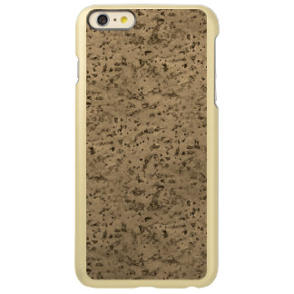 Wheat Natural Cork Bark Look Wood Grain iPhone 6 Plus Case