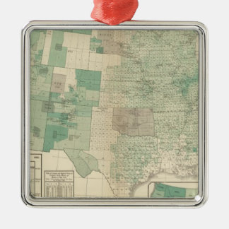 Wheat per acre sown christmas ornament