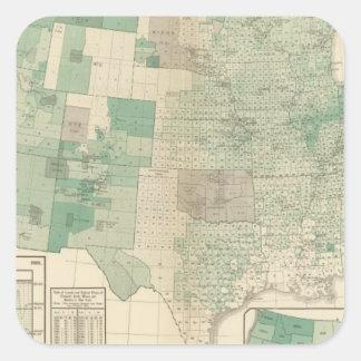 Wheat per acre sown square sticker