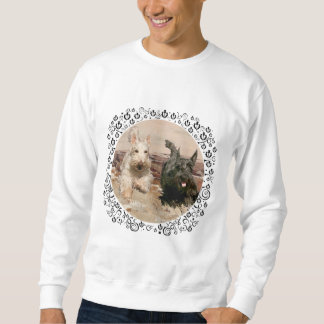 Wheaten & Black Scotties Running Sweatshirt
