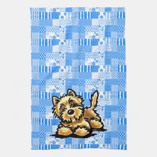 Wheaten Cairn Terrier Tea Towel