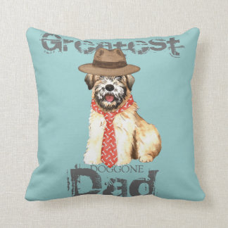 Wheaten Dad Cushion