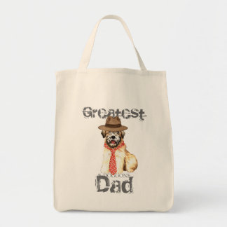 Wheaten Dad Grocery Tote Bag