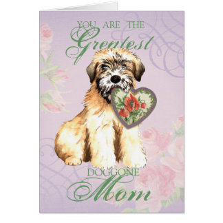Wheaten Heart Mom Card