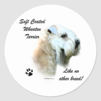 Wheaten Like No Other Breed - Sticker
