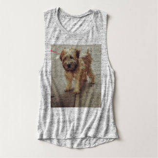 Wheaten Pup Tank Top