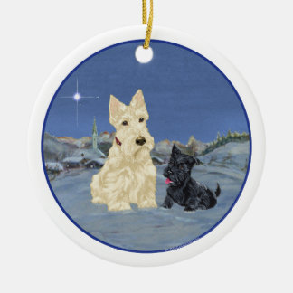 Wheaten Scottie Dog Ornament