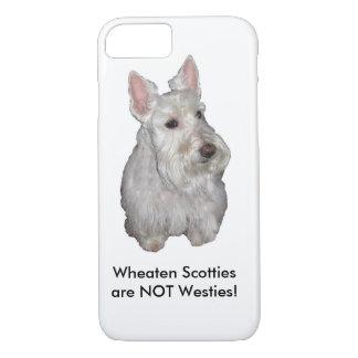 Wheaten Scotties are NOT Westies! iPhone 7 Case