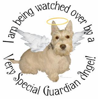Wheaten Scottish Terrier Angels Photo Cutout
