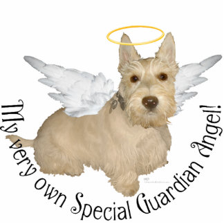 Wheaten Scottish Terrier Angels Cut Out