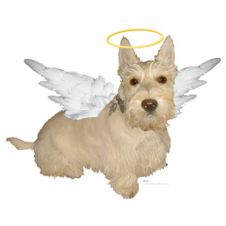 Wheaten Scottish Terrier Angels Photo Cutout