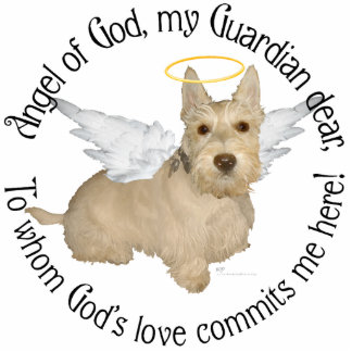 Wheaten Scottish Terrier Angels Cut Outs