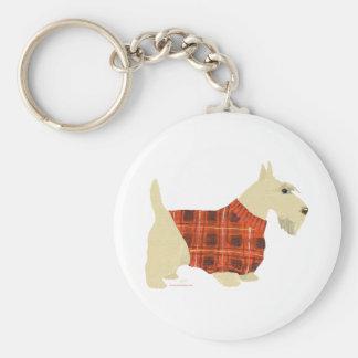 Wheaten Scottish Terrier Sweater Key Chains