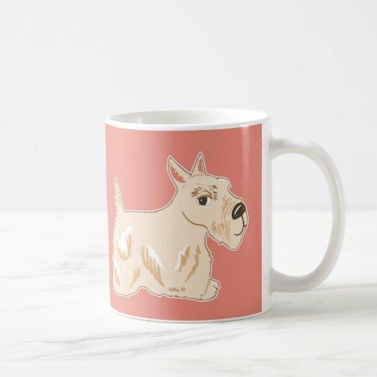 Wheaten Scottish Terrier Warm Peach Mug
