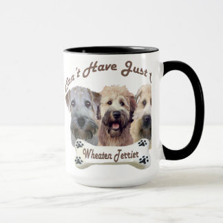Wheaten Terrier Can't Have Just One Mugs