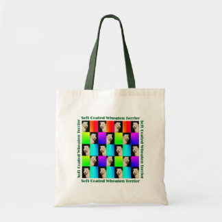 Wheaten Terrier Design Budget Tote Bag