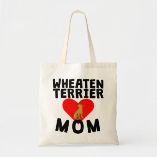 Wheaten Terrier Mom Budget Tote Bag